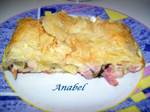 Receta Pastel a los dos quesos, para Anabel - Petitchef