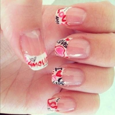 Valentine\'s Day Nails