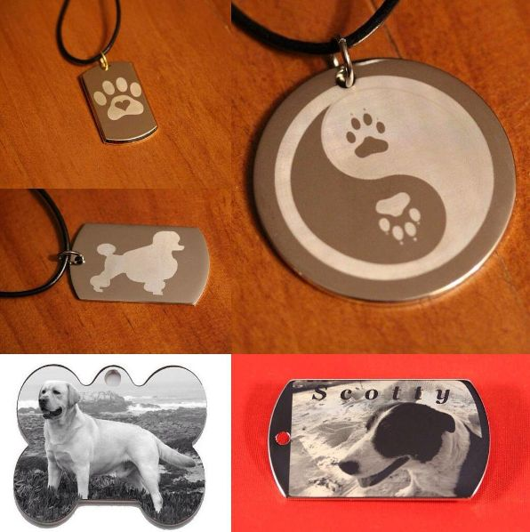 We do Custom made pendants with a variety of shape and sizes to choose from #custom   #image #engraving  #instadog   #doglovers   #pet #paw  #pooch   #photo   #dogtag #dogstagram  #dogs   #orderyourstoday #freeshipping  #giftideas #getinearlyforchristmas  #greatgift   #special #unique  #oneofakind   #orderonline