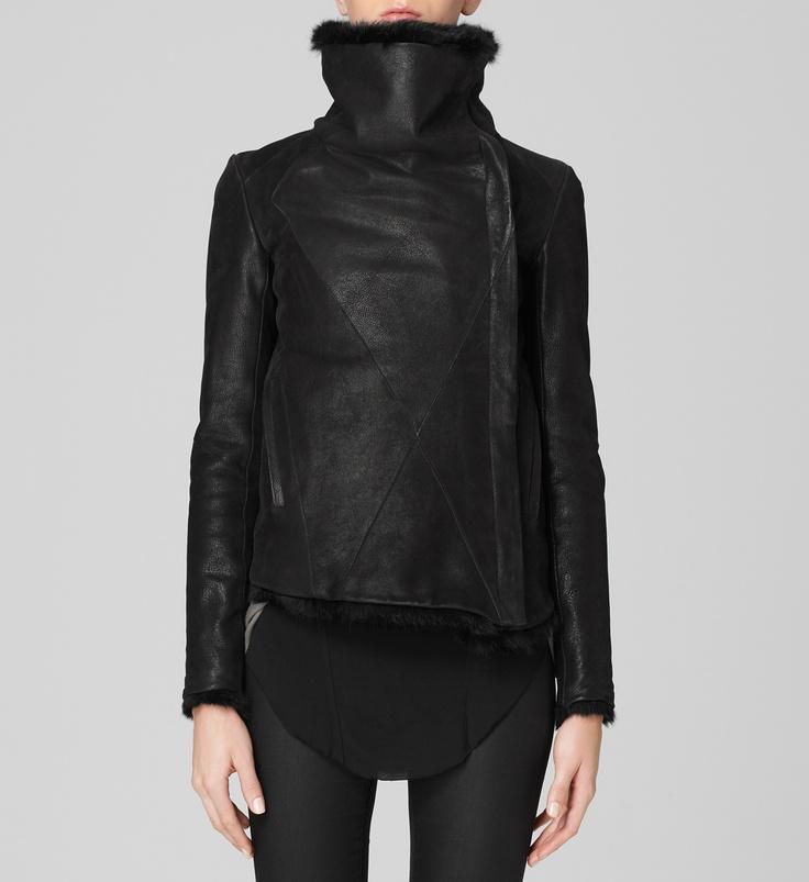 Helmut Lang flux fur reversible jacket