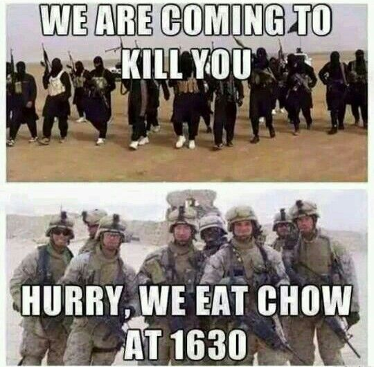 The funniest thing on here, if your not a Marine you won't understand. Haha