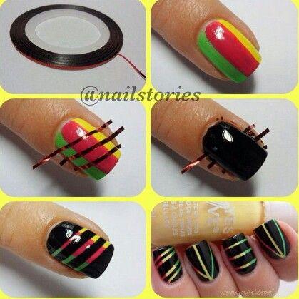 Jamaican nails