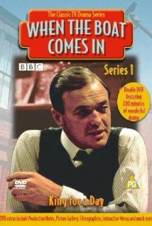 "When the Boat Comes In   The series stars James Bolam as Jack Ford, a First World War veteran who returns to his poverty-stricken (fictional) town of Gallowshield in the North East of England in the 1920s.  The memorable traditional tune ""When The Boat Comes In"" was adapted by David Fanshawe for the title theme of the series."
