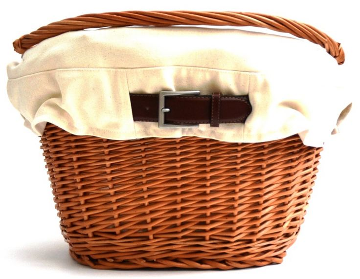 Adorable bike basket that will make your bike beautiful! <3