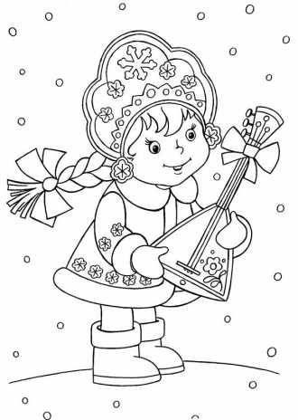 Раскраски Новый год и Рождество Христово для самых ...