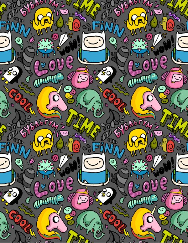 My Adventure Time by anka , via Behance