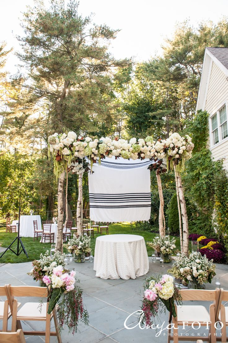 A beautiful canopy for an outdoor wedding | Aramat Events // Images by AnyaFoto Photography // www.anyafoto.com