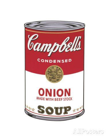 Campbell's Soup I: Onion, c.1968 Poster van Andy Warhol bij AllPosters.nl