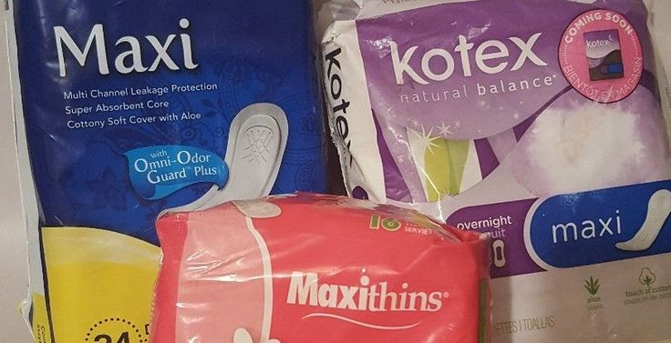 Maxi pads- Lot- new (other) see photos and description