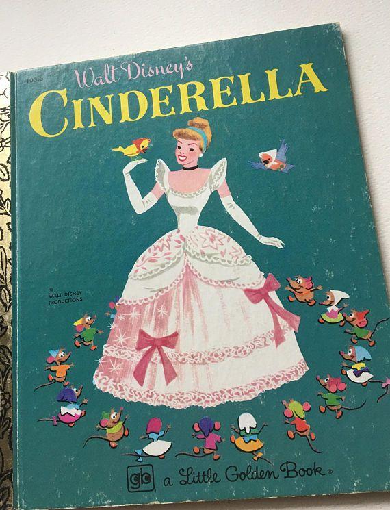Cinderella by the Walt Disney Studio Little Golden Book 1979