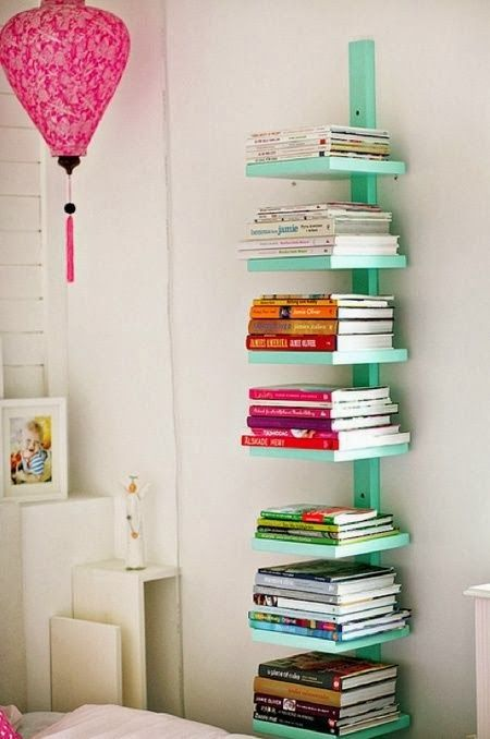 mommo design: 9 DIY IDEAS FOR KIDS ROOM - tower shelf