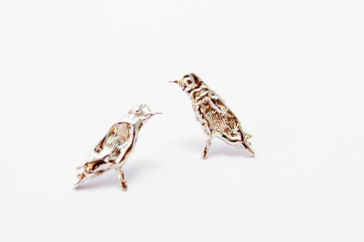 silver bird de nataliasaldias en Etsy