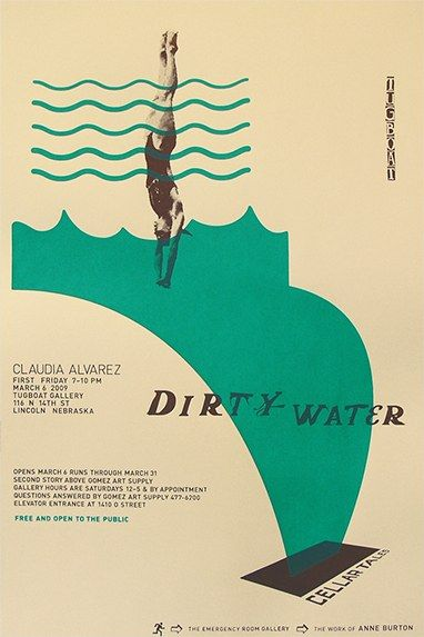 Tugboat Gallery exhibition posters