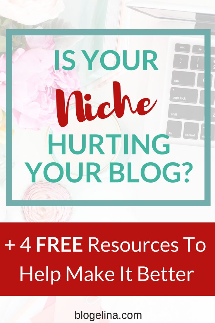 Is Your Niche Hurting Your Blog? {+ 4 FREE Resources To Help You Make It Better} | Blogelina