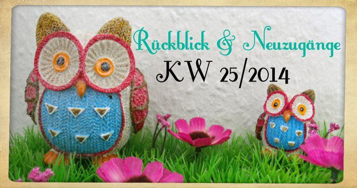 Katis-Buecherwelt: [NEUZUGANG] Rücklick und Neuzugänge der KW 25/2014...