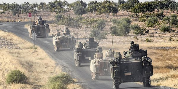 Turkish military says hits 71 IS targets in northern Syria