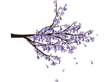 Flowers jacaranda personalised stationery - 7 Best Images About Psychology Symbols On Pinterest