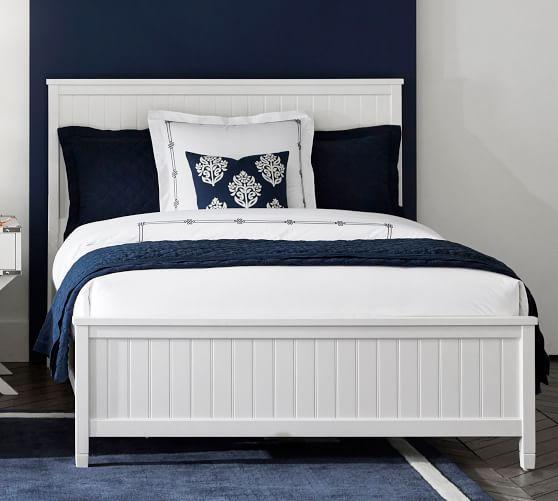 beadboard bed in 2019 upstairs bedroom bed white beadboard bed rh pinterest com