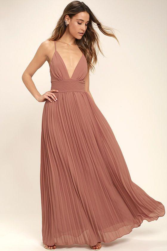 Depths Of My Love Rusty Rose Maxi Dress Eventos Diversos