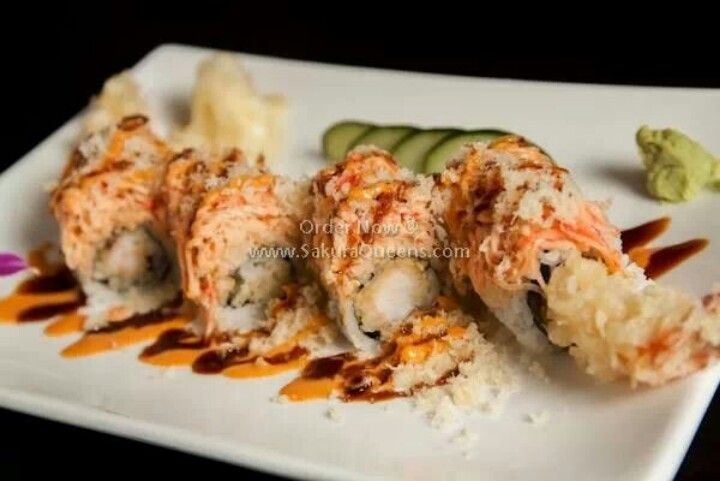 Angry dragon roll sushi pinterest for Angry fish sushi