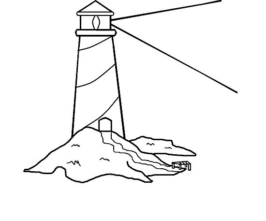 Line Art Lighthouse : Pix for gt lighthouse coloring book young woman ideas