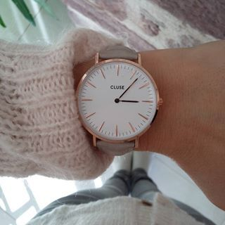Pink & grey #cluse #clusewatches