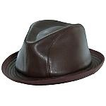 """""""An absolutely magnificent hat"""" says Scott C. of Reno about the Victor Osborne leather stingy brim, a HartfordYork.com exclusive, adding: """"This is quite simply the finest example I have ever seen. Not owned....SEEN."""" See V04 for yourself."""