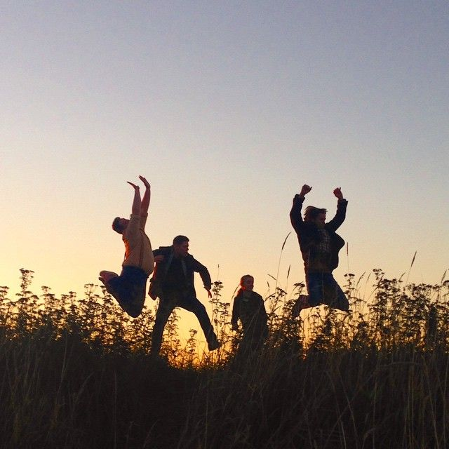 """The sequel...."" - from Brad Creasser's Instagram. Jensen, Jared and ??, and a Vancouver sunset :)"
