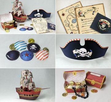 ¡Imprimibles gratis para tu Fiesta Pirata! Para que no falte ni un detalle en la super fiesta. Tienes invitaciones de pirata, sombreros, mapas del tesoro, hasta cofres para meter los […]