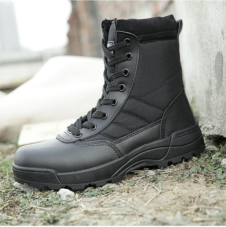 Online Shop SWAT Outdoor shoes  men's high boots to help combat boots for men winter boots warm desert commando tactics boots. | Aliexpress Mobile