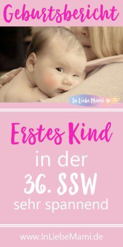 GEBURTSBERICHT: Erstes Kind. SEHR spannend! - In Liebe Mami