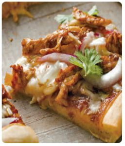 BBQ Chicken Pizza - Dove Chocolate Discoveries Recipe