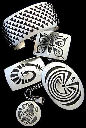 Hopi Silver Jewelry - A  Distinct Artistry