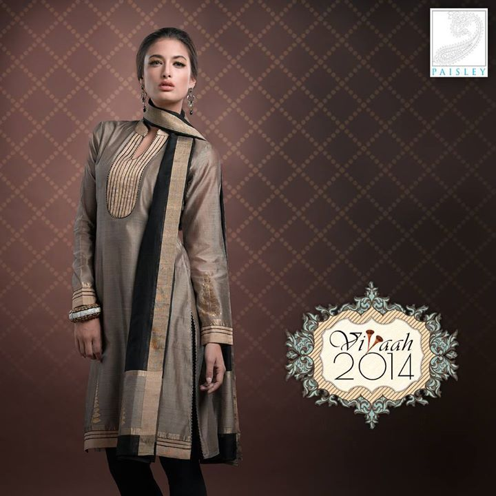 Tradition meets modernity with a touch of Gold & Black in #Vivaah2014 #Glamquotient