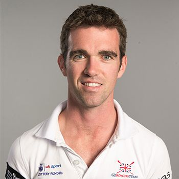 Richard Chambers - Rowing. Men's lightweight double scull.