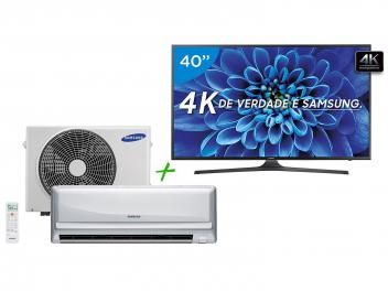 """Smart TV LED 40"""" Samsung 4K/Ultra HD 40KU6000 - Conversor Digital + Ar-Condicionado Split Samsung Não perca esta promoção!! https://www.magazinevoce.com.br/magazinevipchic/p/smart-tv-led-40-samsung-4kultra-hd-40ku6000-conversor-digital-ar-condicionado-split-samsung/149131/ em até 10x de R$ 389,80 sem juros no cartão de crédito  ou R$ 3.703,10 à vista !! #natalénaVIPCHIC"""