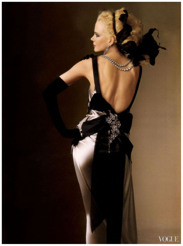 Nicole Kidman - Vogue by Irving Penn, May 2004