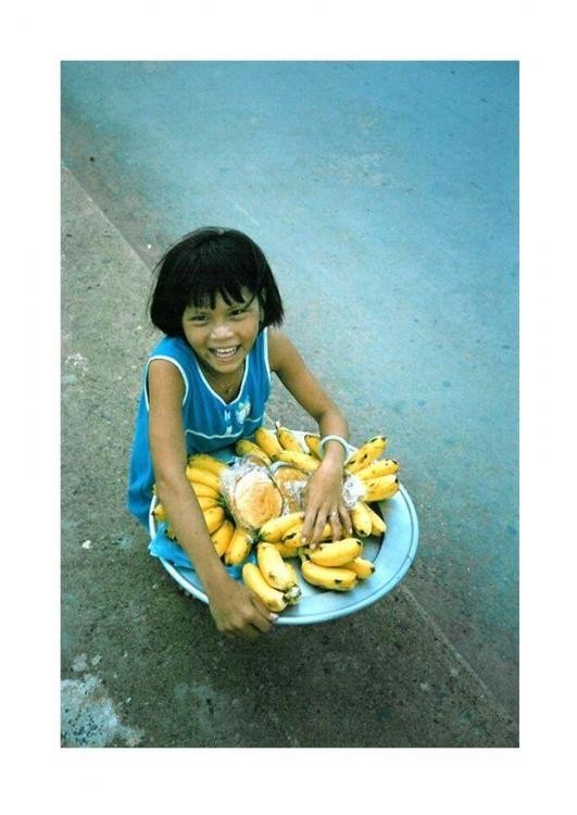 child vendor in Jakarta, Indonisia