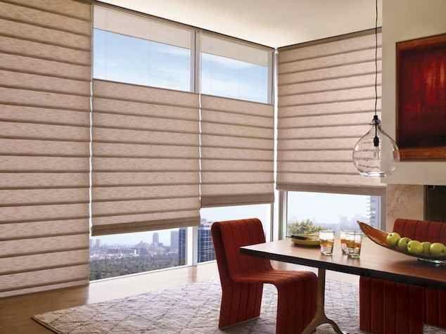 Die besten 25+ Hunter douglas Ideen auf Pinterest Fenstergesimse - moderne raffrollos wohnzimmer