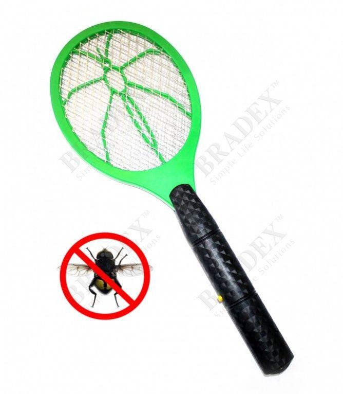 Мухобойка для насекомых электрическая АРТИКУЛ: TD 0260 Электромухобойка – необходимое для лета приобретение. Прибор быстро и эффективно уничтожает насекомых и летающих жуков без химикатов и прочих опасных для здоровья ядов. Мухобойка убивает насекомых, которые подлетают к ней, малыми разрядами тока. Очистить прибор от слетевшихся на свет мухобойки насекомых можно с помощью обычной щетки. Компактный и удобный прибор оригинальной формы можно использовать не только на даче и дома, но и брать с…