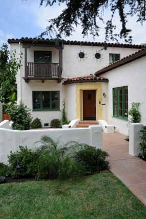Los Angeles Real Estate Blog: Spanish Courtyard or Spanish Colonial Revivial?  집안 ...