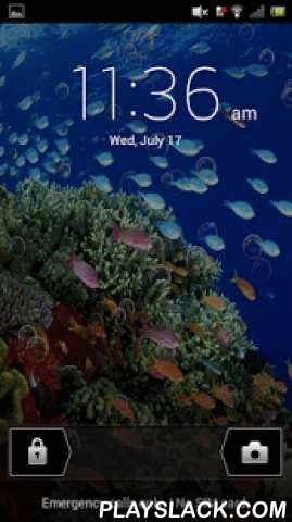 Underwater Aquarium LWP  Android App - playslack.com , Is being underwater and experiencing the vivid marine wildlife, one of your most desired fantasies but you have never realized it ?Well your search ends here !!!Underwater Aquarium Live Wallpaper brings the mysterious underwater world right at the Home Screen of your favourite phone.Underwater Aquarium Live Wallpaper is for Underwater fans. It contains High quality HD image of Underwater wildlife with a hint of ripple effects when you…