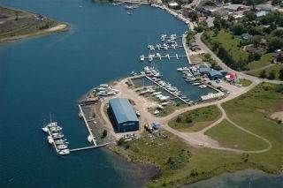 Full service marina on 1.35 acre 143' on North Channel of lake Huron, the area of world class sailing,  in operation since the 1940's, the family business since 1966,  Its capacity has increased from 20 slips in 1966, to over 70 slips today.  Situated in downtown Little Current on Manitoulin Island.   Property taxes $17k. Asking price $1,799,000 negotiable. See it at http://www.ongeorgianbay.ca/listings/070 or…