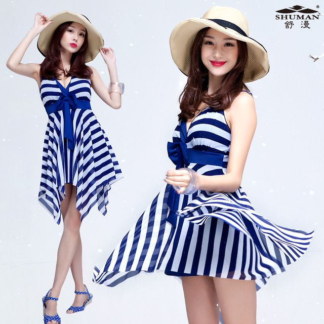 The New South Korean women's swimwear hot spring clothing female fat mm cover belly thin Siamese skirt US $61.49 Specifics Material	Nylon, spandex Pattern Type	Letter Support Type	Wire Free With Pad	No Gender	Women Item Type	One Pieces Color classification	Blue Item no	016 Style	Skirt one Size	M, L, XL, XXL, XXXL  Click to Buy :http://goo.gl/t9O329