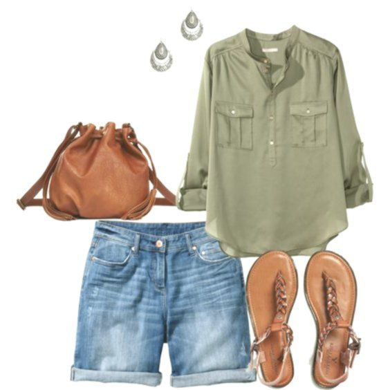 Schau dir die besten Sommer-Outfits für mollige F…