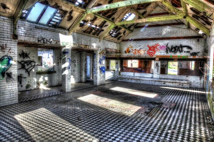 Abondoned Boys village barry south wales