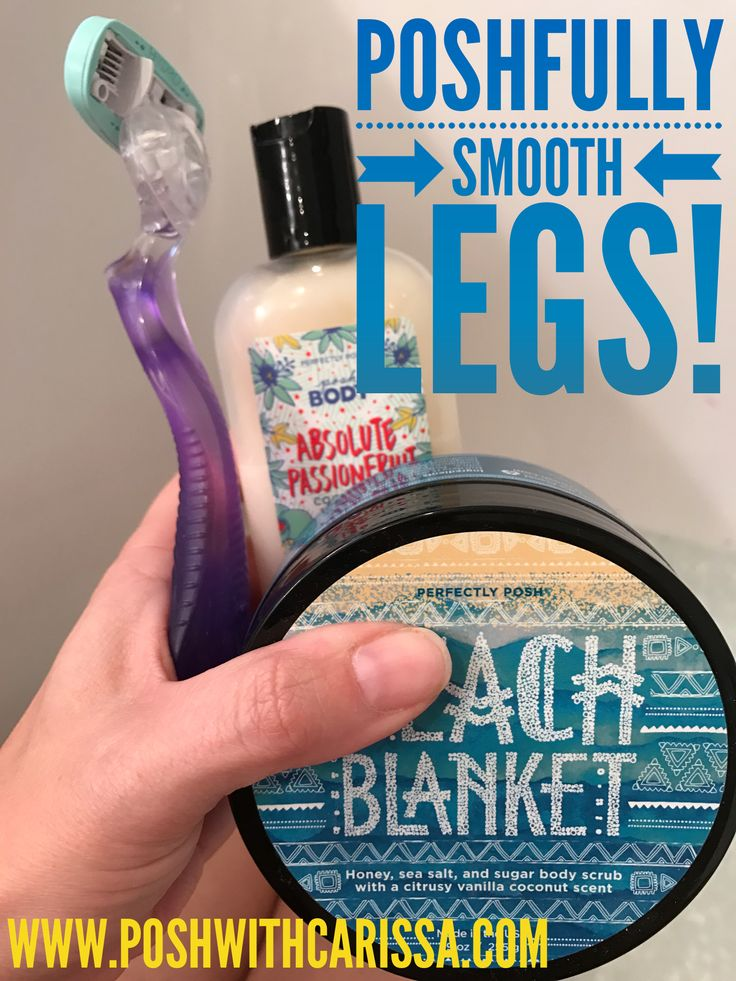 For super smooth legs this summer, exfoliate then shave with coconut oil. Apply your favorite body butter afterwards and you'll see a difference in your skin immediately. Choose Perfectly Posh naturally based pampering products