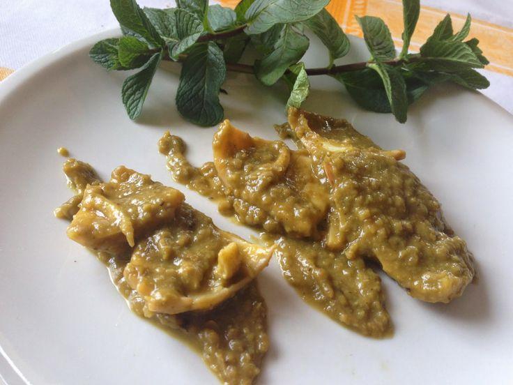 FallenAngelinCucina: Calamari in vellutata di Zucchine e Piselli.