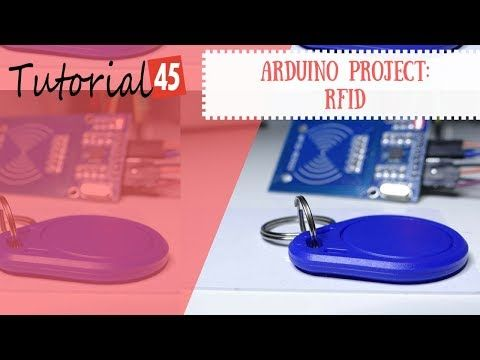 Arduino RFID project for beginners - Tutorial45
