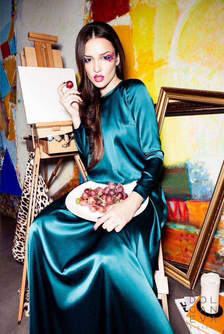 Платье шелк 100%  14000 руб. 100% silk dress 14000 rubles.